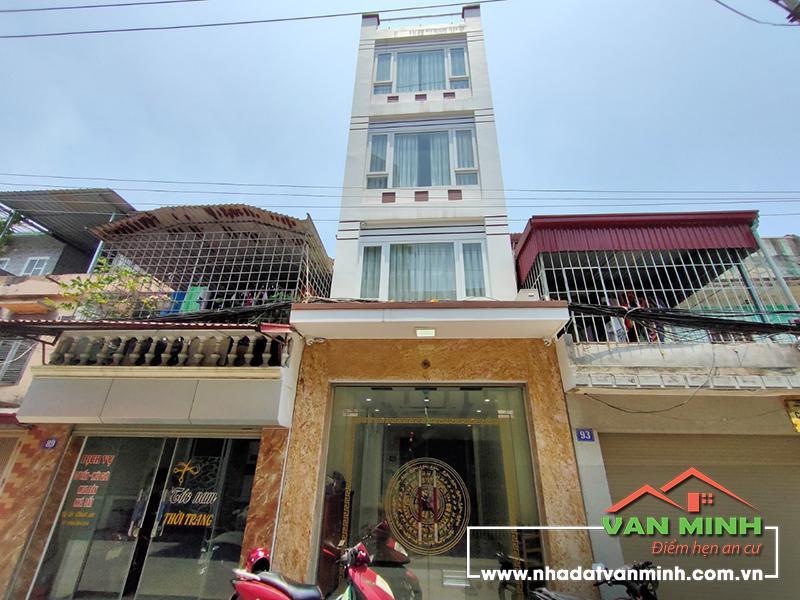 Bán nhà mặt đường số 91 Nguyễn Tường Loan, Lê Chân, Hải Phòng