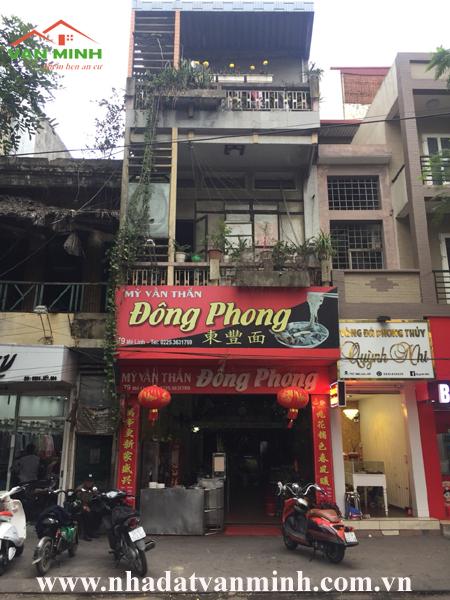 Bán nhà mặt đường số 79 Mê Linh, Lê Chân, Hải Phòng