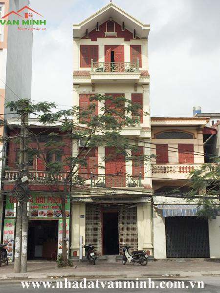 Cho thuê nhà mặt đường số 1049 Đại lộ Tôn Đức Thắng, Hồng Bàng, Hải Phòng
